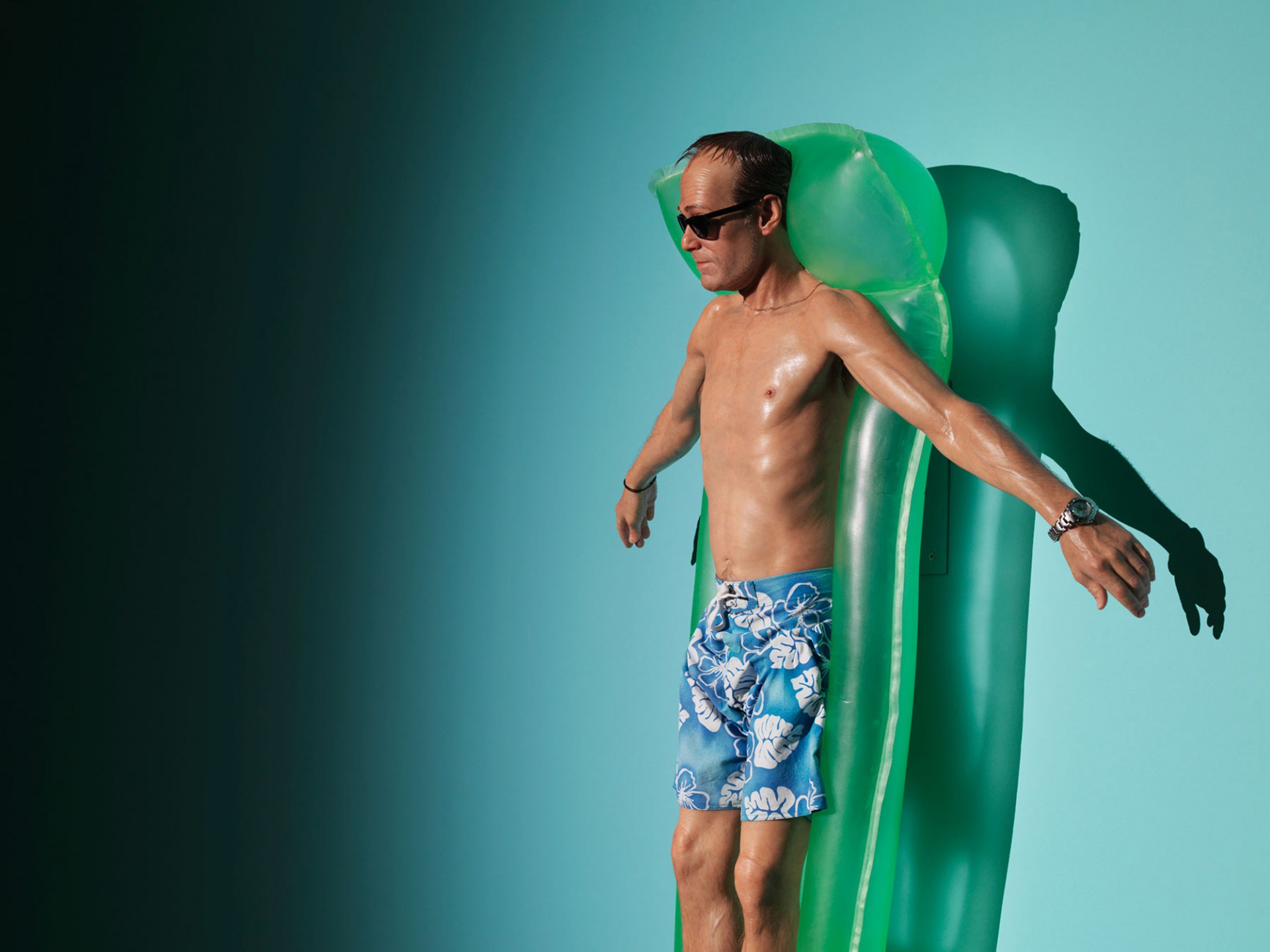 Patrick Gries Ron Mueck<br/>Fondation Cartier pour l&#8217;art contemporain  2013