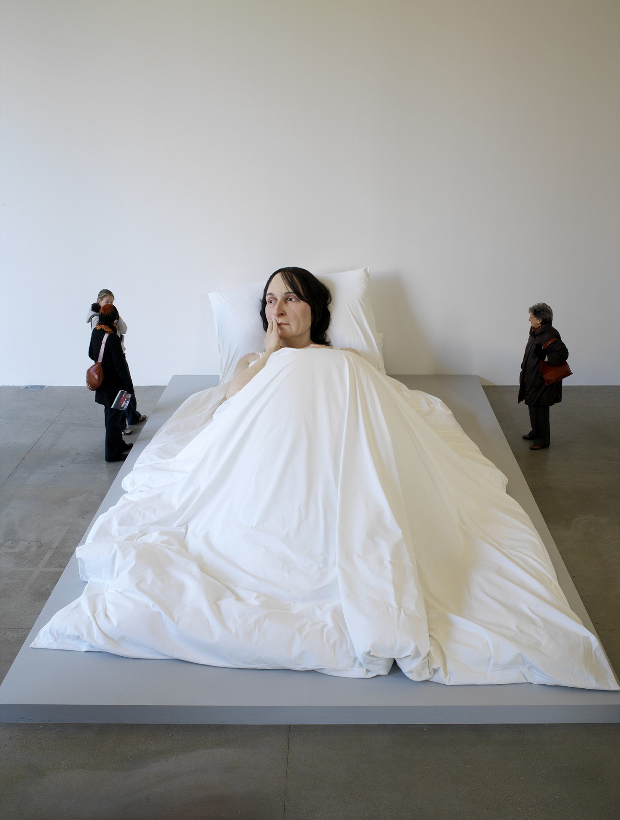 Patrick Gries Ron Mueck<br/>Fondation Cartier pour l&#8217;art contemporain 2006